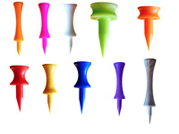 Golf Plastic Castle Tees - All Sizes & Quantities *MULTIBUY DISCOUNT* NEW