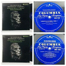"""Beethoven Symphony No.9 in D minor, """"Choral"""" Columbia 33CX 1574 & 1575 B/G ED1"""
