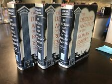 The Decline and Fall of the Roman Empire Gibbon Modern Library Giant 3 Vol HCDJ