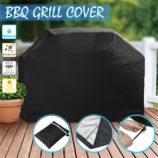 BBQ Cover 4 Burner Waterproof Outdoor UV Gas Charcoal Barbecue Grill Protect  EL