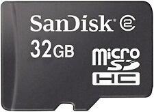 Sandisk Micro SD / TransFlash microSDHC 32GB Class 4