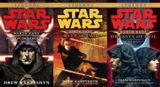 Star Wars DARTH BANE TRILOGY by Drew Karpyshyn PAPERBACK Collection Books 1-3