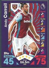 TOPPS MATCH ATTAX 2016-17- #359-WEST HAM UNITED-ANDY CARROLL