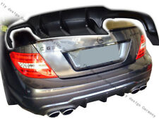 FACELIFT Mercedes w204 204 AMG Tuning diffuser rear attachment Facelift Rear Apron