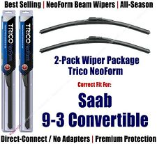 2pk Super-Premium NeoForm Wipers fits 2003 Saab 9-3 16210x2 (Convertible ONLY)
