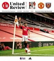 MANCHESTER UNITED V WEST HAM UNITED   2019/20