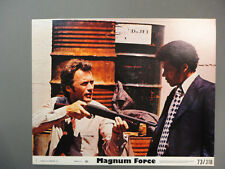 """ Magnum Force "" Clint Eastwood / 8""x10"" Lobby Card Set"