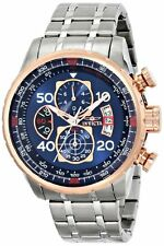 "Invicta Men's 17203 ""AVIATOR"" Stainless Steel and 18k Rose Gold Ion-Plated Watch"