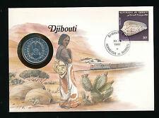 Numis-Brief 1987 aus Dschibuti  (B18)