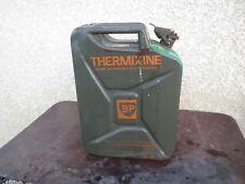 Ancien Jerrican Bidon BP Thermixine 20L Déco Loft Atelier Garage auto ancienne