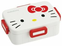 Skater Hello Kitty 4points lock lunch box 650ml Bento Japan made dishwasher safe