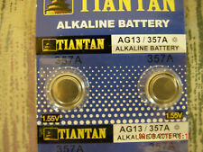 Tiantan Alkaline Battery AG-13 / 357A & Compatibles Button or Cell Made in China
