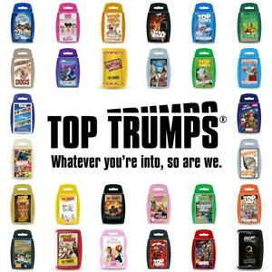 Top Trumps Card Games - Direct from the Manufacturer - Brand New 2021 Editions