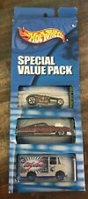 Hot Wheels -3 Pack of Cars (Trigger Happy Nathan, Weiss Ice ) ~ NEW ON CARD
