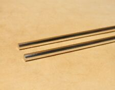9999 Pure Silver Wire 4 Gauge - Two (2) 6 inch Rods - GSS Guaranteed 99.99%+