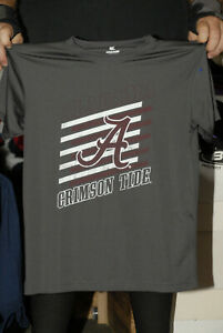 Alabama Crimson Tide 100% polyester t shirt Roll Tide YOUTH M Colosseum NICE