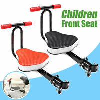 Bicycle Bike Front Seat W/ Thickened Padded Child Kids Chair Sport Seat Foldable