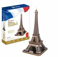 Eiffel Tower - CubicFun 3d Puzzle Mc091h 82 Pcs