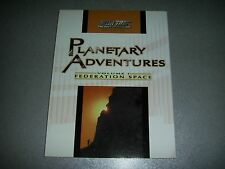 Planetary Adventures Volume 1 Federation Space Star Trek The Next Generation RPG