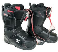 LikeNEW DC Scout Boa  Snowboard Boots mens Size 8 Black Scout 320198 W12014