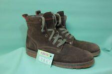 Orig Tommy Hilfiger Boots Stiefel Gr 44 Leder echt Herren braun rauh Winter