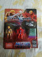MEGA CONSTRUX FINAL SHOWDOWN: MASTERS OF THE UNIVERSE - He-Man Vs Beast Man MOTU