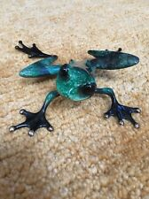 Frogman Tim Cotterill Bronze Frog Runt BF8 SOLD OUT