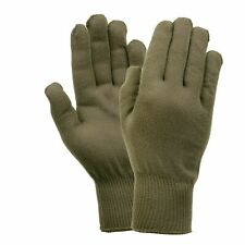THERMO-LITE GLOVE LINERS MOISTURE WICKING USA MADE SIZE LARGE OD GREEN