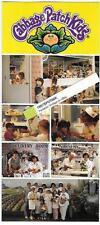 Cabbage Patch Kids Adoption Center Advertising Flyer ca 2000 Anaheim Hobby City