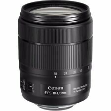 Canon EF-S 18-135mm f/3.5 to 5.6 IS Nano USM Telephoto Zoom Lens Like New