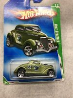 Hot Wheels 2009 Treasure Hunt Neet Streeter 1934 Ford International card B43