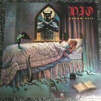 LP VINYL ALBUM RECORD DIO DREAM EVIL1987 UK 1ST PRESS EX/EX