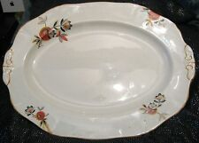 Gorgeous Alfred Meakin Vintage Harmony Shape Platter in porcelain 12½ x 9¾ ins