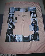 LANCEL Calicot Publicité magasin vitrine  115 x 175 cm SUPERBE & RARE !!