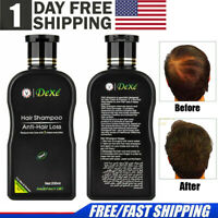 USPS Dexe Anti Hair Loss Shampoo Hair Fast Regrowth 100% Natural For Men &Women