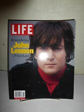 REMEMBERING JOHN LENNON 25 YEARS LATER LIFE MAGAZINE SPECIAL EDITION 2005  B159