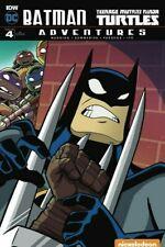 Batman Adventures Teenage Mutant Ninja Turtles #4 Variant Comic 2017 - DC Comics