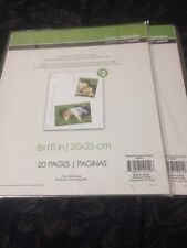 8X10 in Photo Sheets - 16 Sheets Total