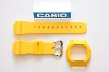 CASIO G-Shock G-5600A-9 Original NEW Yellow COMBO BEZEL & BAND  GW-M5600-9