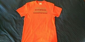 Under Armour T-shirt Grösse M  Orange 100% Baumwolle - TOP!!!