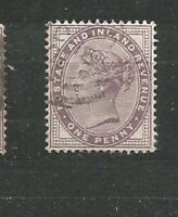 Great Britain Queen Victoria  Postage and Inland Revenue One Penny