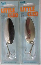 2 Pks.  Acme Tackle LITTLE CLEO - 3/4 oz.  Nickel & Nickel/Black