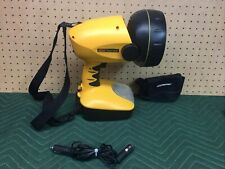 Coleman Powermate Twin Bulb Spotlight With Map Light 12v Cord Tested Works Read