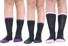 Chaussettes noires coton pour femme