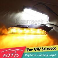 LED Tagfahrlicht TFL für VW Scirocco R 2010-2013 DRL Licht Lampe Blinker