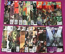 X-FACTOR Lot of 21:  #1-8, 1#0-21, #36 Marvel 2006 Series