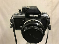 Nikon F2 Photomic Camera with 55mm 1:1.2 Nikkor SC Auto Lens / case Excellent