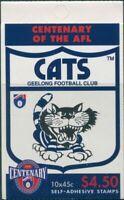 Australia booklet 1996 SG1620 45c AFL Geelong MNH