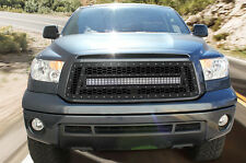 Grille for 10-13 Toyota TRD Tundra Steel Aftermarket Grill Kit w/ LED Light Bar