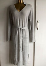 BNWT Next grey marl tie knit dress size 10